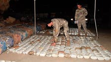 ضبط 4 أطنان من المخدرات قبل تهريبها من لبنان