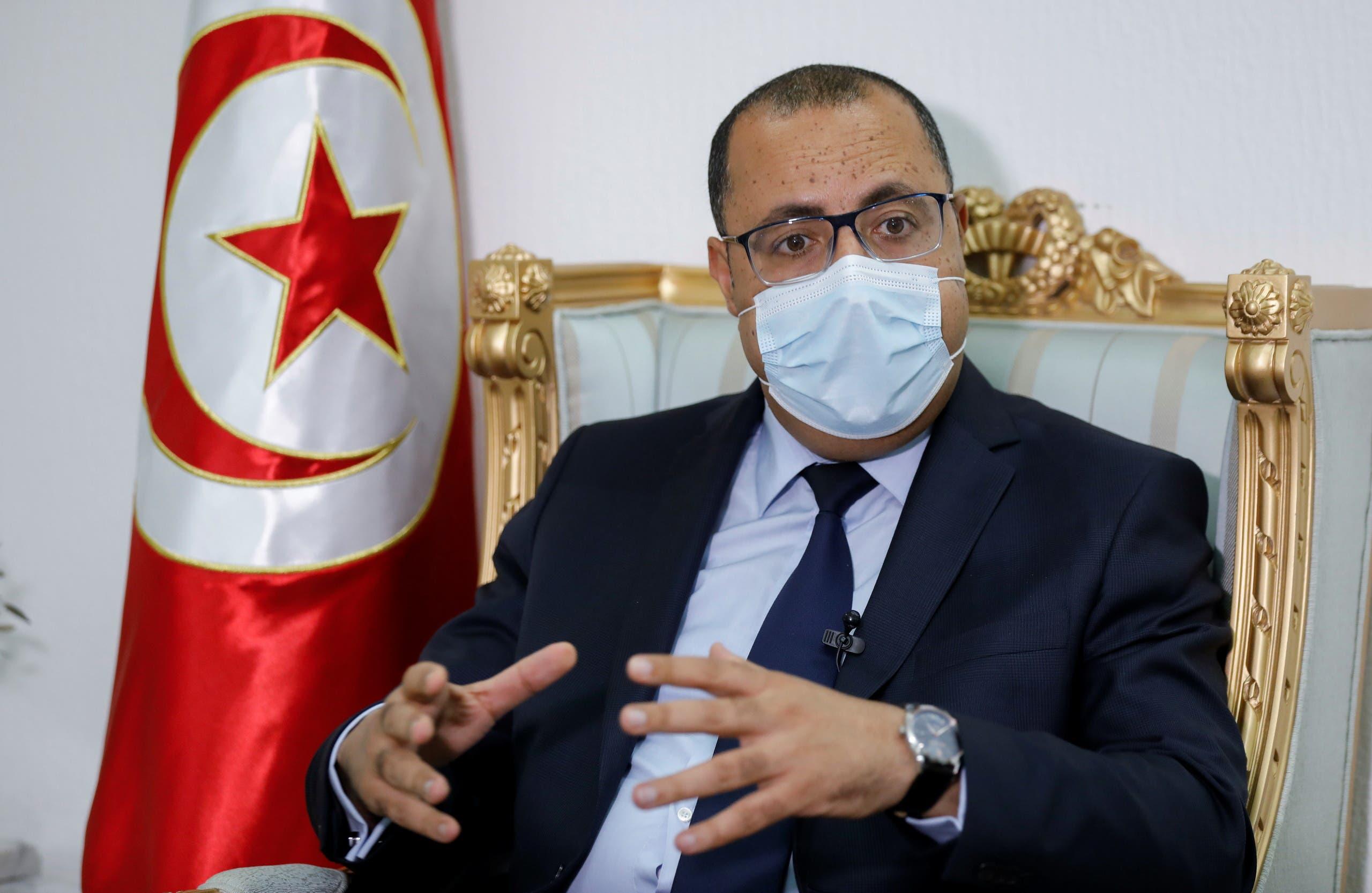 رئيس الحكومة التونسي هشام المشيشي (أرشيفية)
