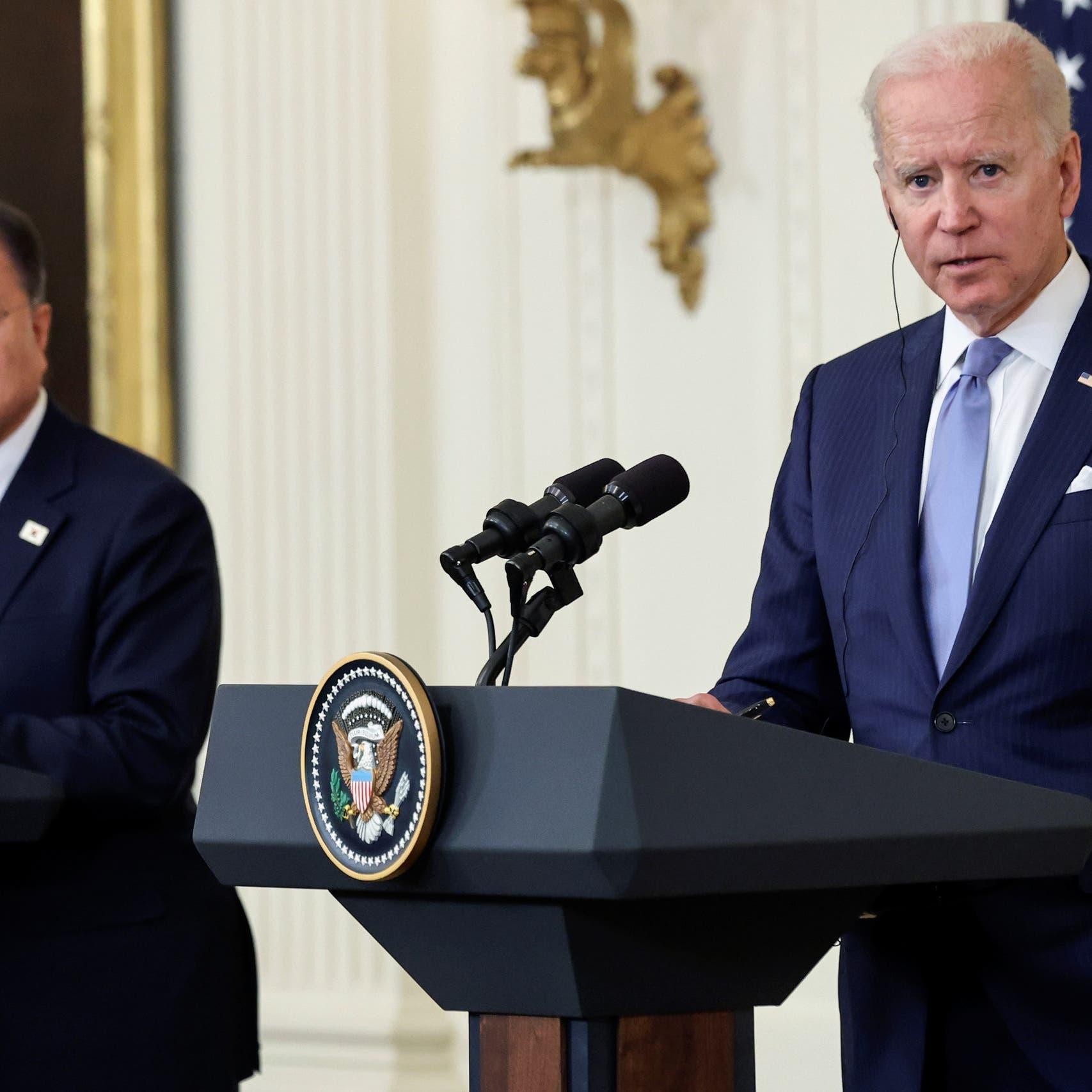 بايدن يقر بصعوبة تخلي كوريا الشمالية عن سلاحها النووي