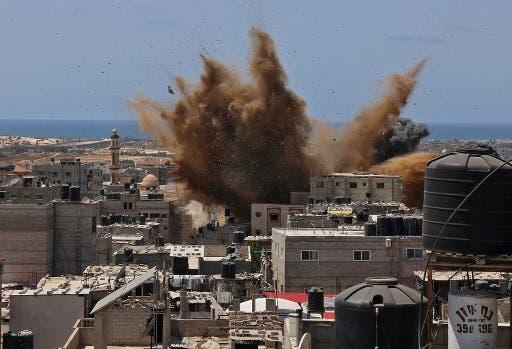 غزة - فرانس برس