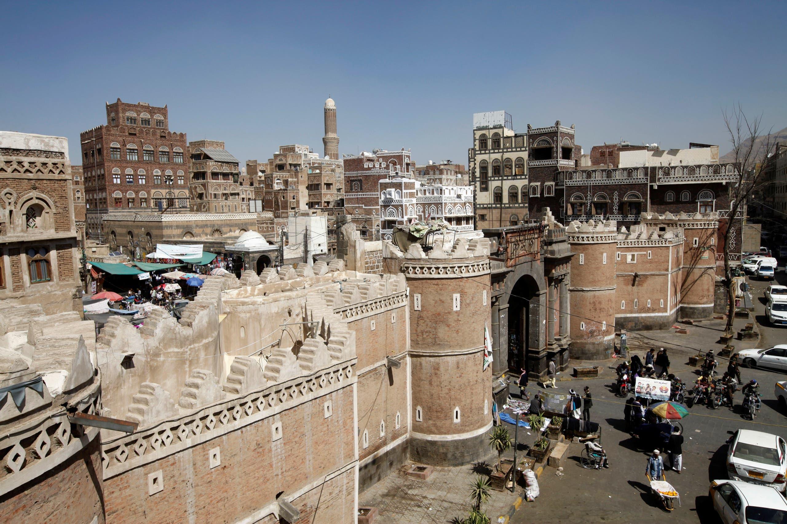 مشهد عام لمدينة صنعاء (رويترز)