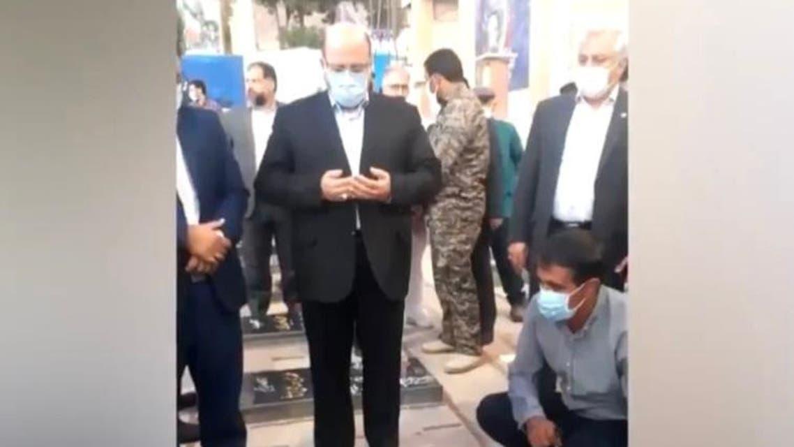 ممثل حماس في طهران خالد قدومي