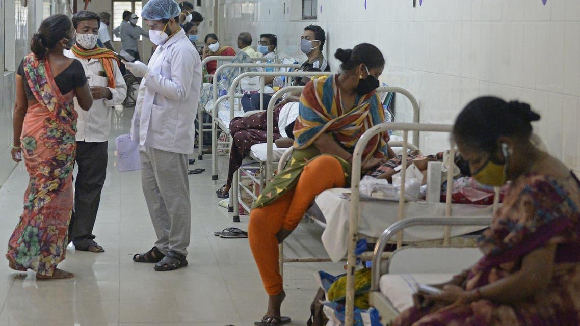 مصابون بالفطر الأسود في الهند (فرانس برس)