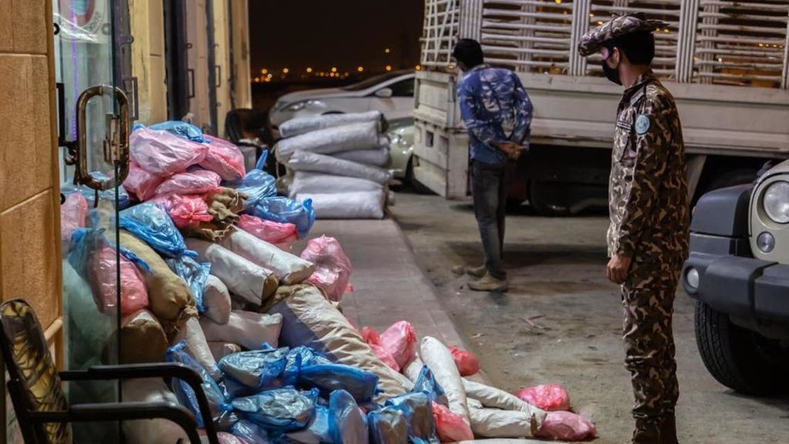 Saudi Arabia's Special Forces for Environmental Security seized 73 cubic metres of illegally felled firewood in the Riyadh area. (Twitter)