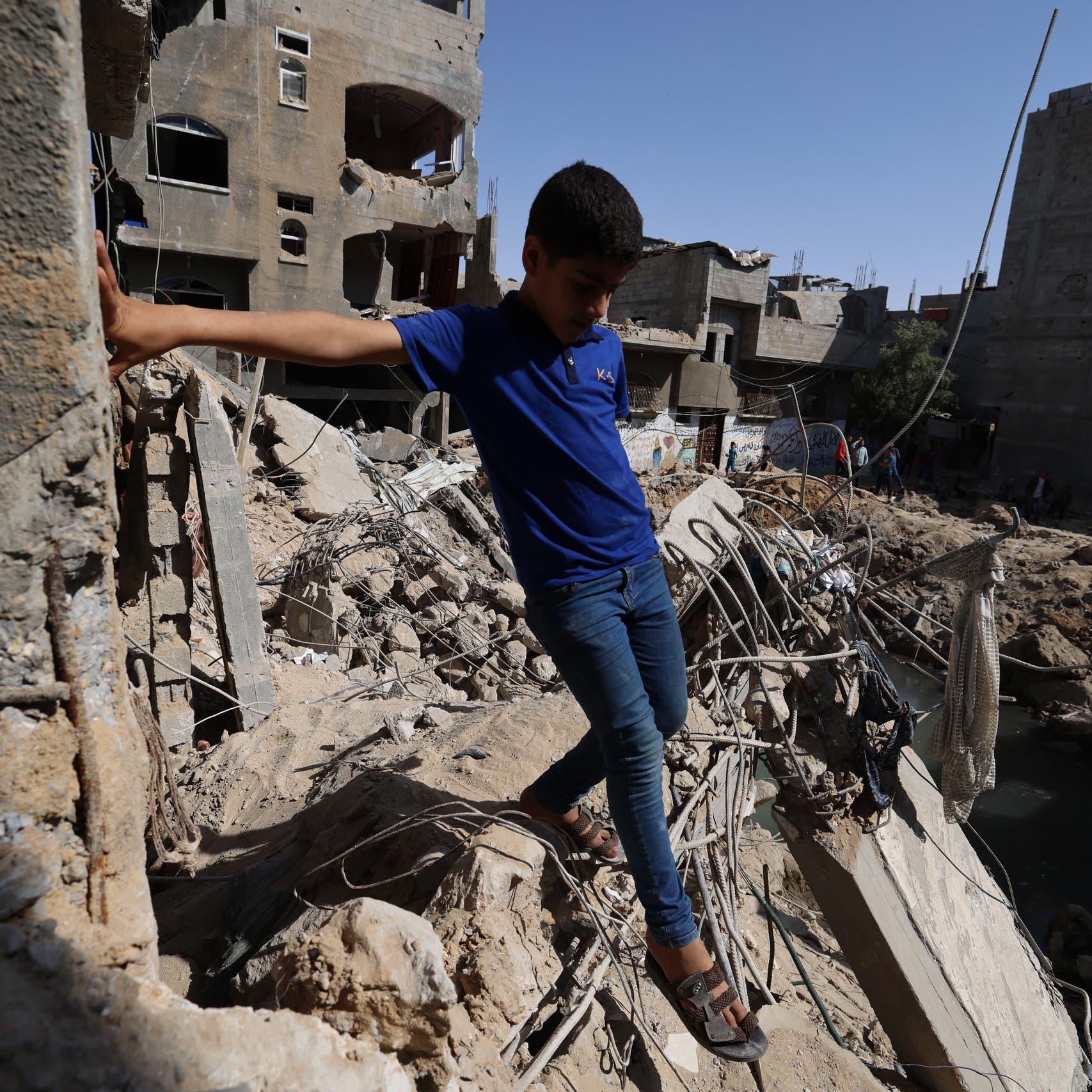 """بسبب الدمار.. حماس """"أنهينا العام الدراسي في غزة"""""""