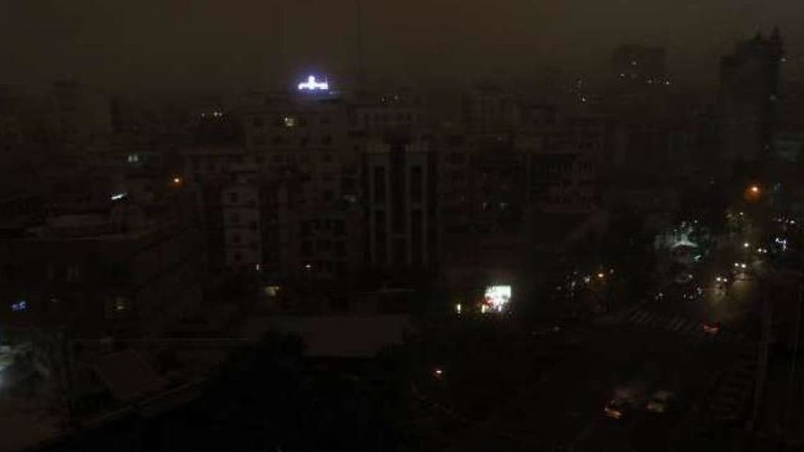 تهران در خاموشی