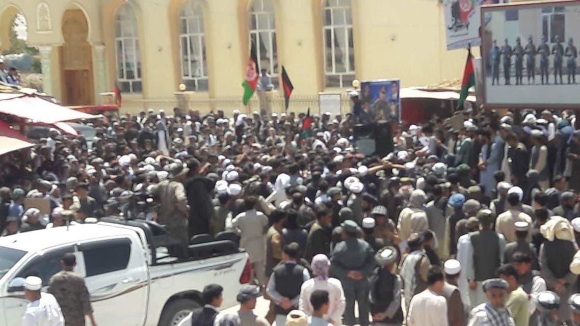 اعتراض افغانستان