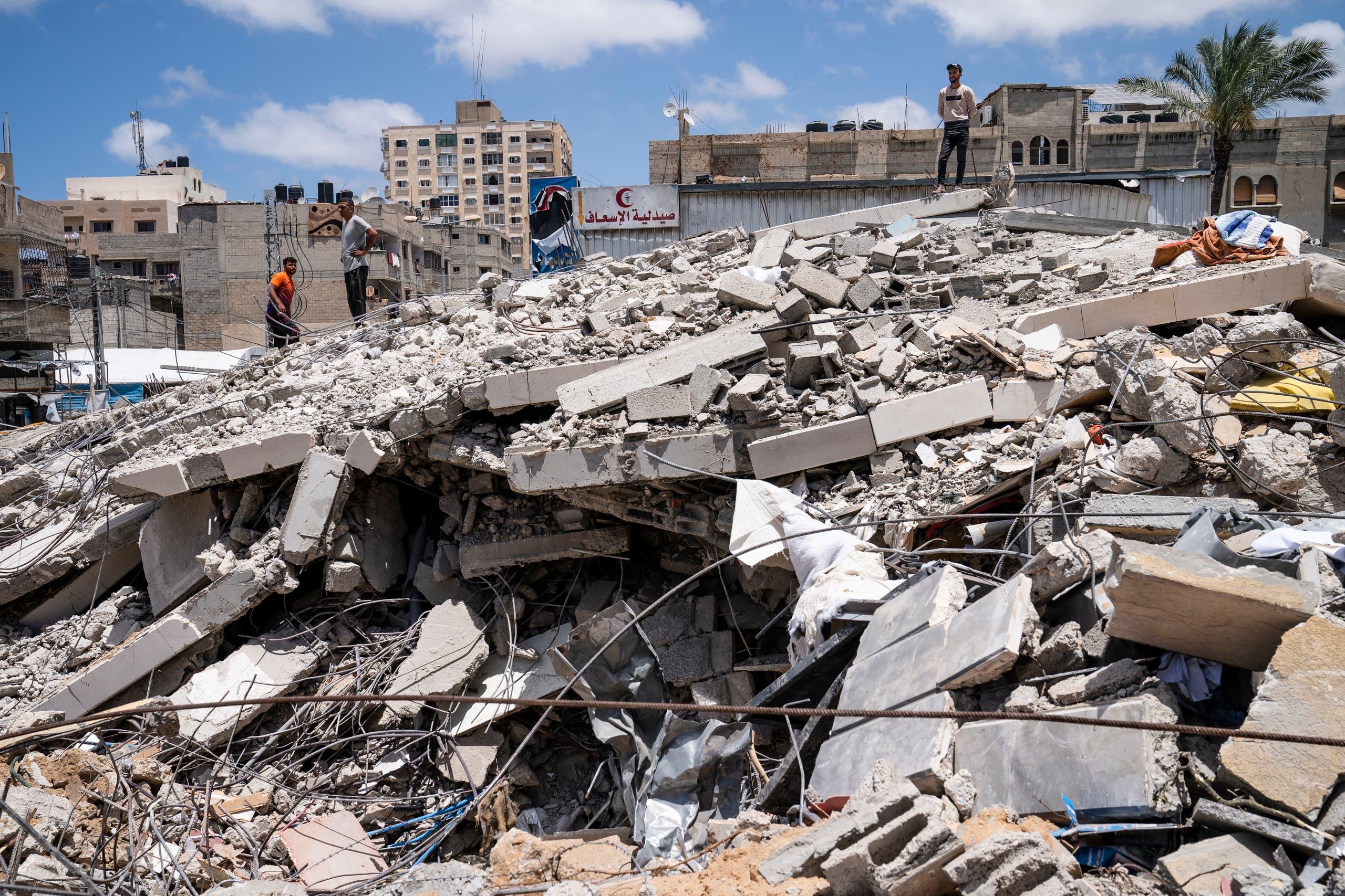 من غزة (أرشيفية من أسوشييتد برس)