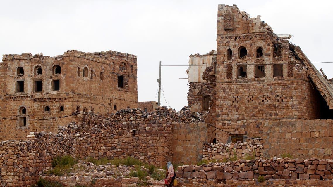 قلعة كوكبان الأثرية (رويترز)