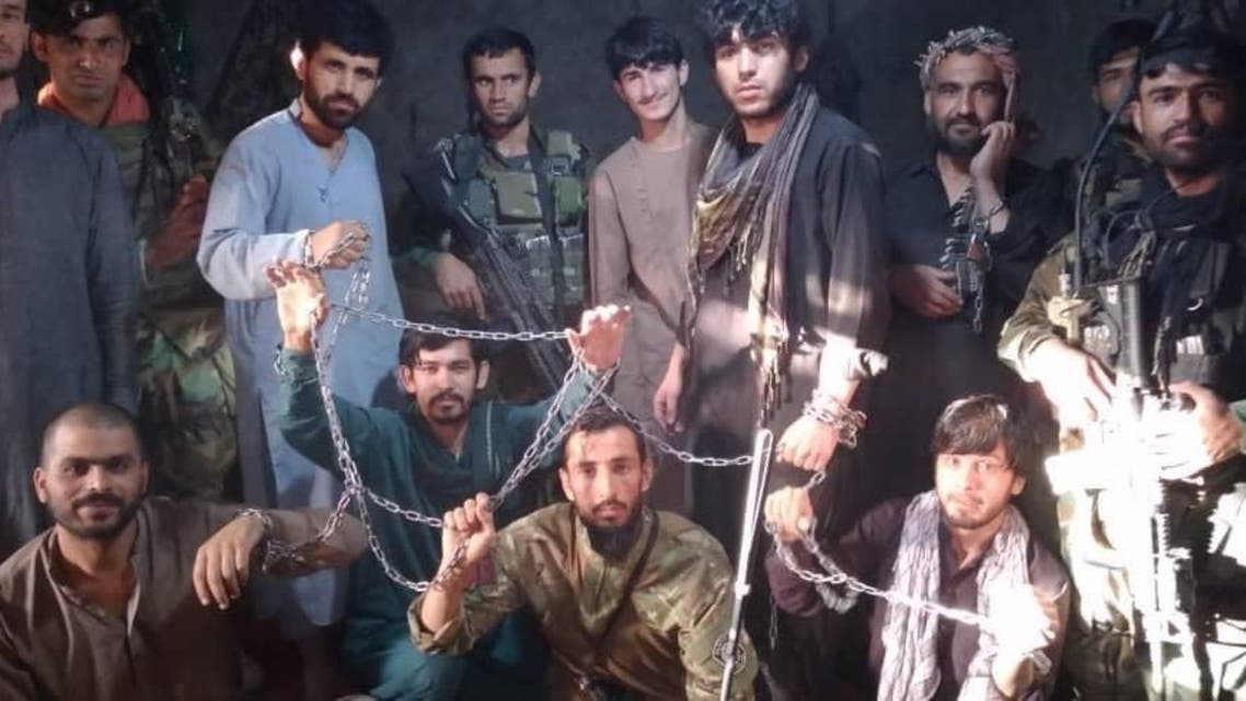 afghan soldiers released from taliban jail