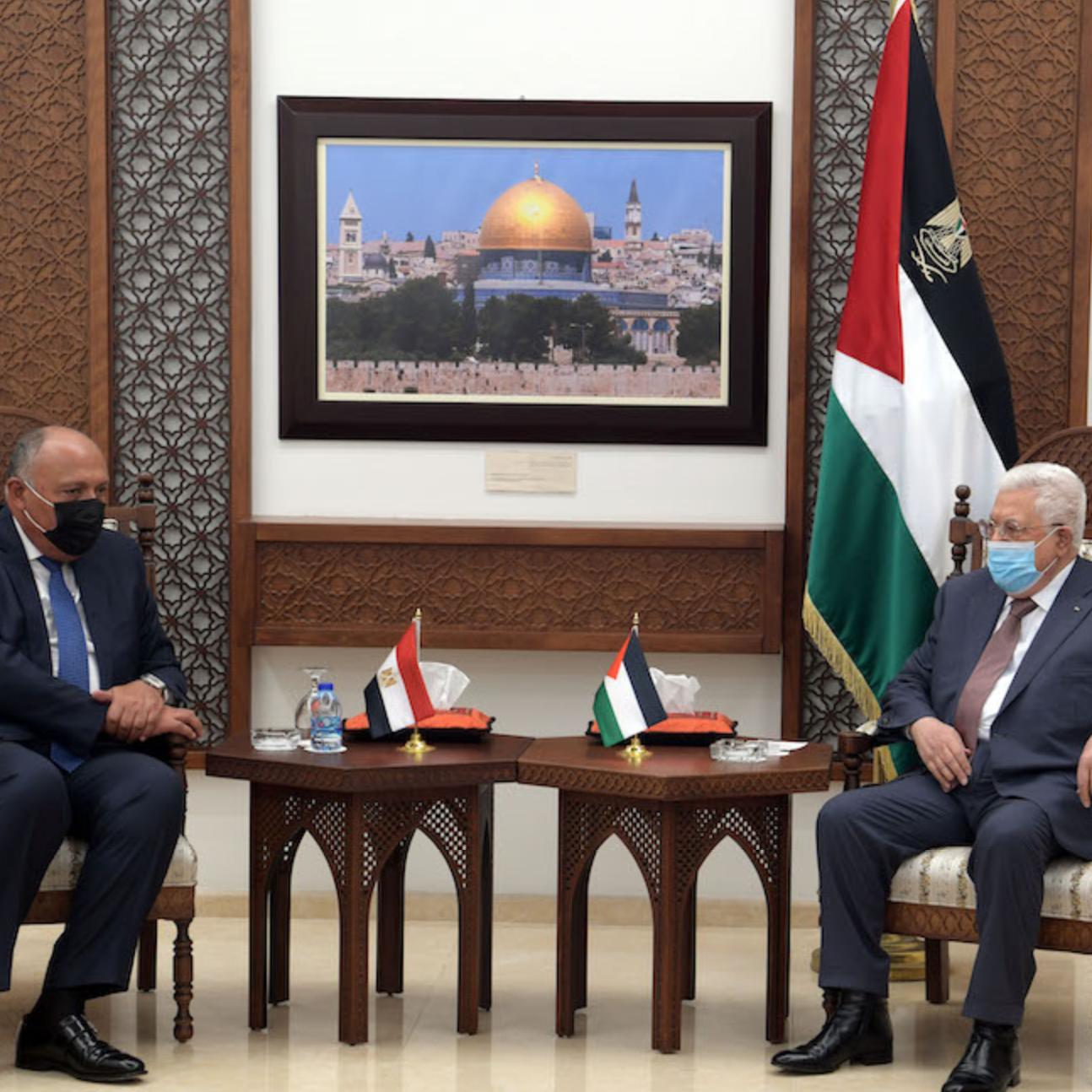 شكري: إعمار غزة سيتم بتنسيق كامل مع السلطةالفلسطينية