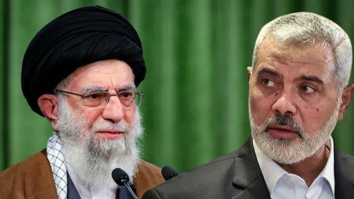 Ismaeil Hanya and Khamnai