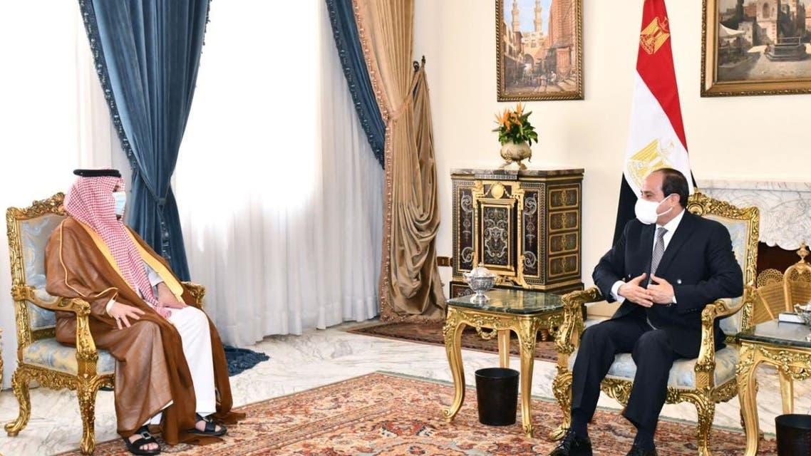السيسي يستقبل تركي آل الشيخ