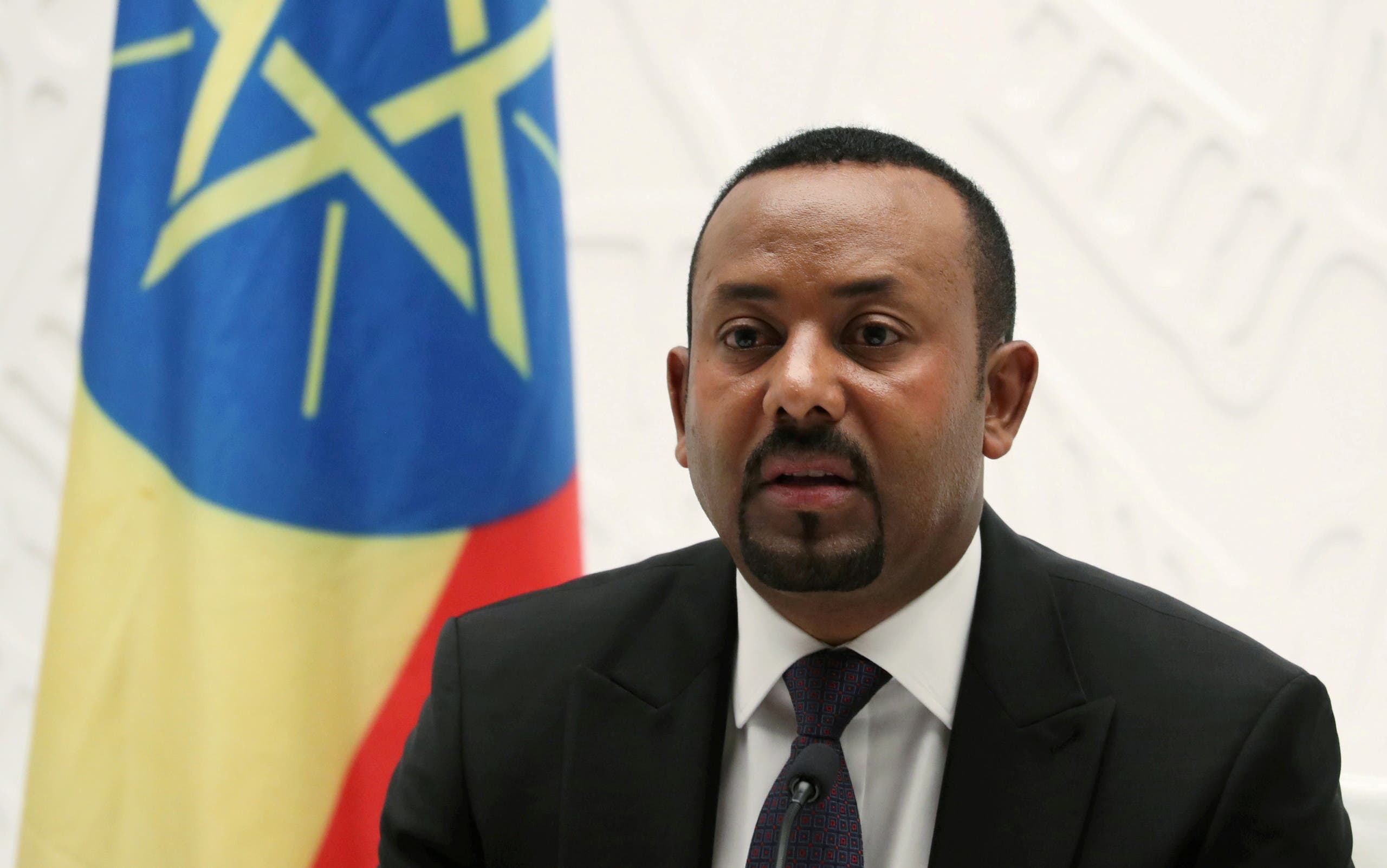 Ethiopia's Prime Minister Abiy Ahmed speaks at a news conference at his office in Addis Ababa, Ethiopia. (File Photo: Reuters)