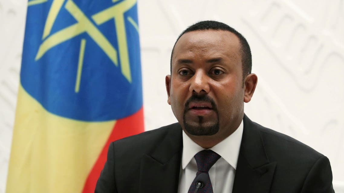 Ethiopia's Prime Minister Abiy Ahmed speaks at a news conference at his office in Addis Ababa, Ethiopia August 1, 2019. (File Photo: Reuters)
