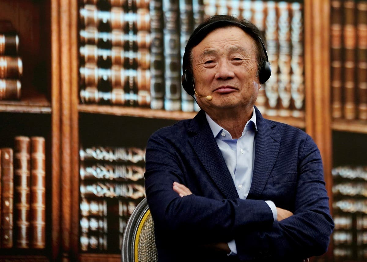 Huawei founder Ren Zhengfei attends a panel discussion at the company headquarters in Shenzhen, Guangdong province. (File photo: Reuters)