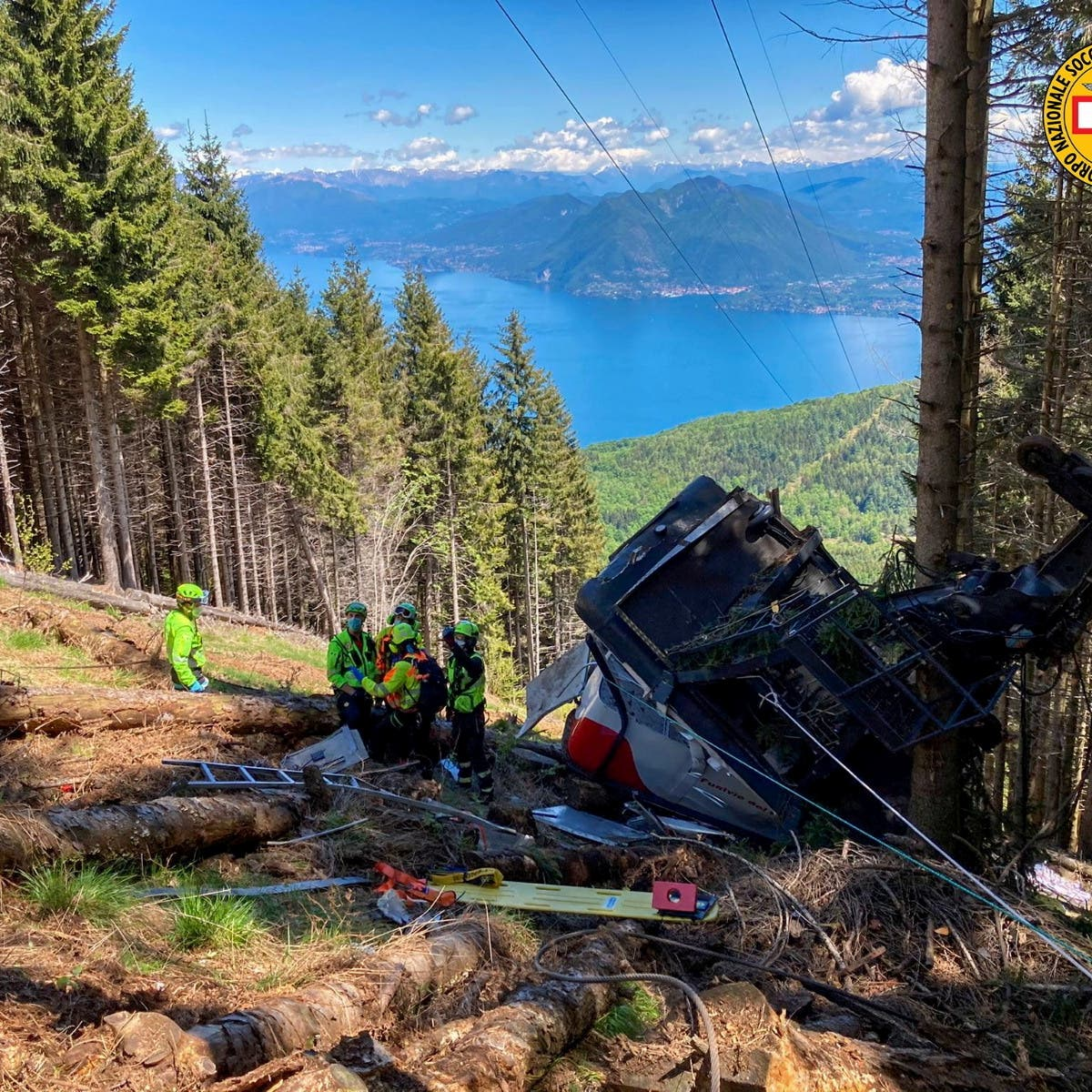 Italy probes cable car crash that killed 14 as child survivor recovers