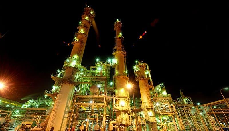 Abu Dhabi National Oil Company production facility in Abu Dhabi, UAE. (Courtesy: ADNOC)
