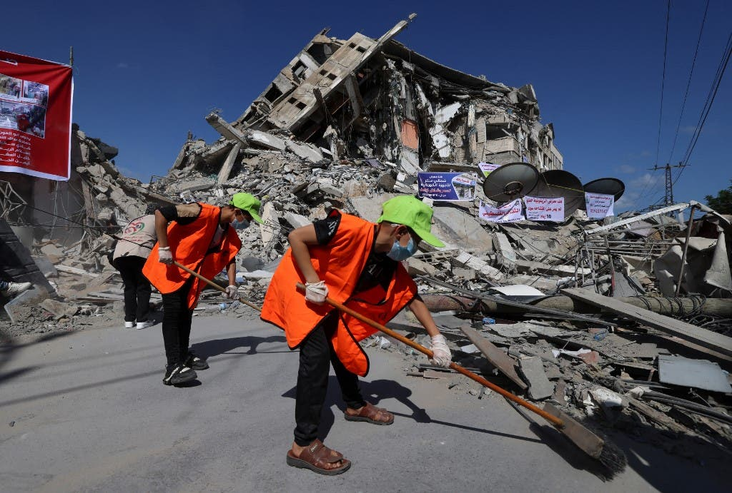 An explosion at an Al-Qassam Brigade site in central Gaza that killed two people
