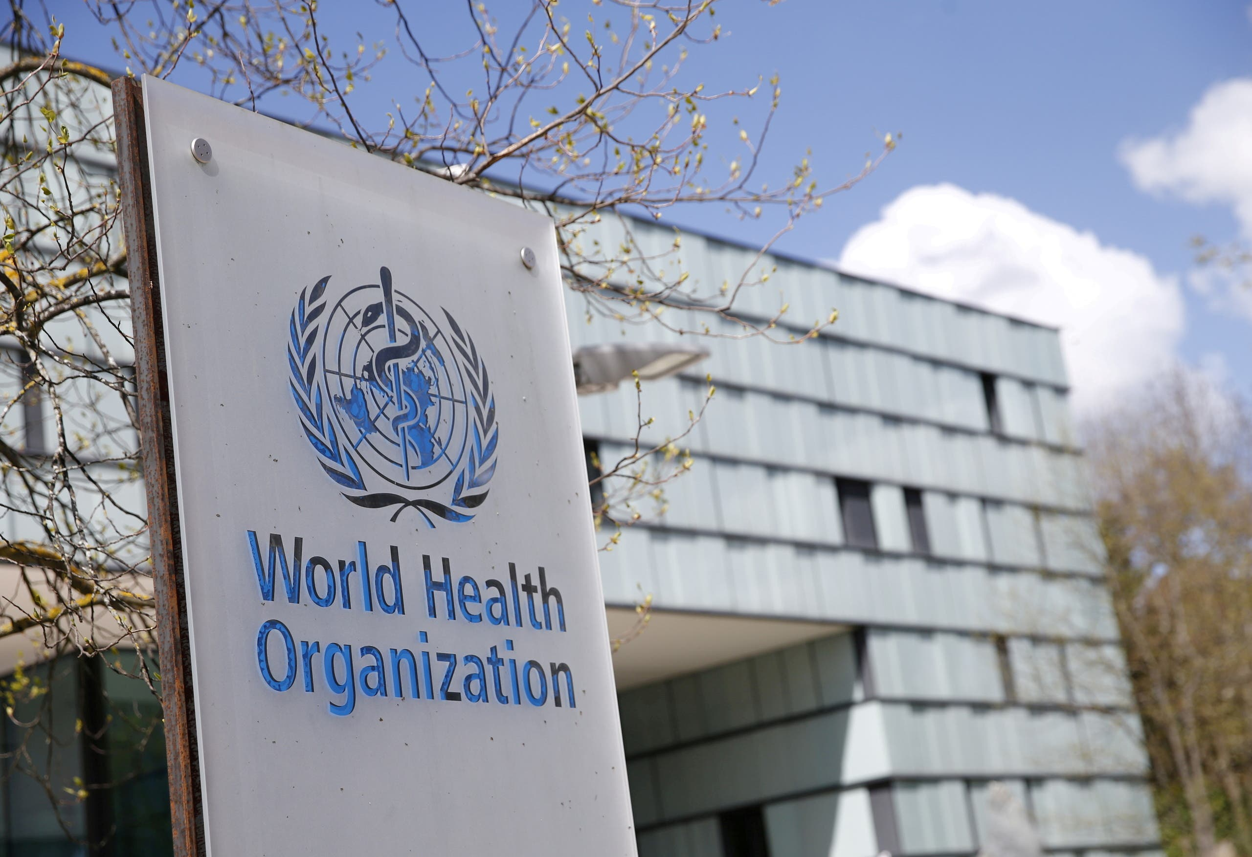 FILE PHOTO: A logo is pictured outside a building of the World Health Organization (WHO) during an executive board meeting on update on the coronavirus disease (COVID-19) outbreak, in Geneva, Switzerland, April 6, 2021. (File Photo: Reuters)