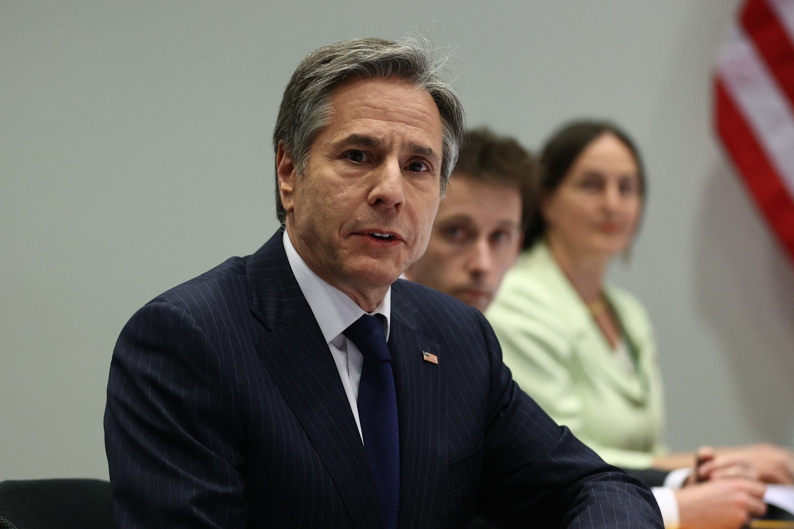وزير الخارجية الأميركي أنتوني بلينكن - فرانس برس ى