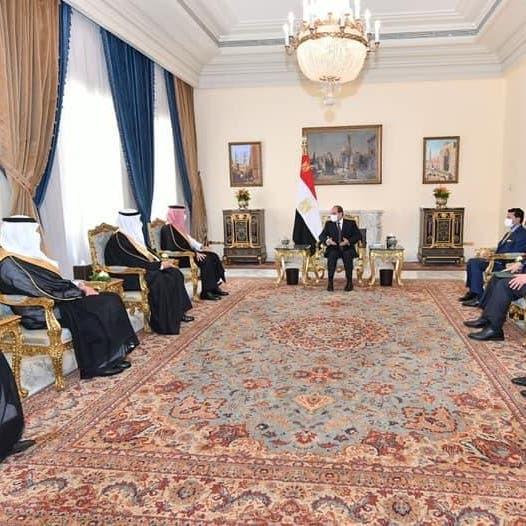 السيسي يبحث مع وزير الرياضة السعودي دعم التعاون وبناء كوادر شبابية