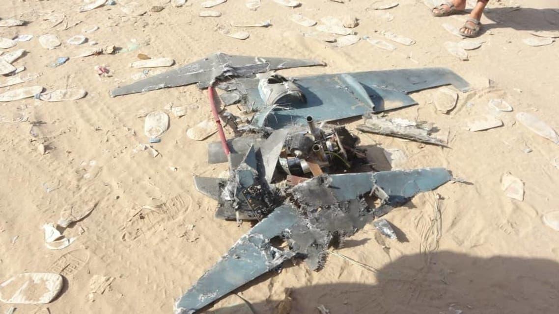 مسيرة حوثية الحوثيون الحوثيين - طائرة درون مفخخة