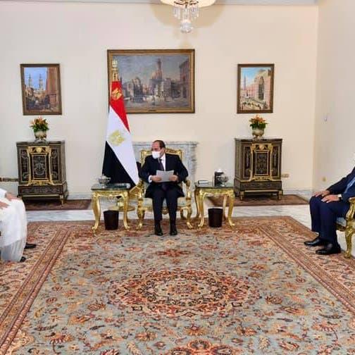 دعوة للسيسي لزيارة الدوحة.. مباحثات مصرية قطرية في القاهرة