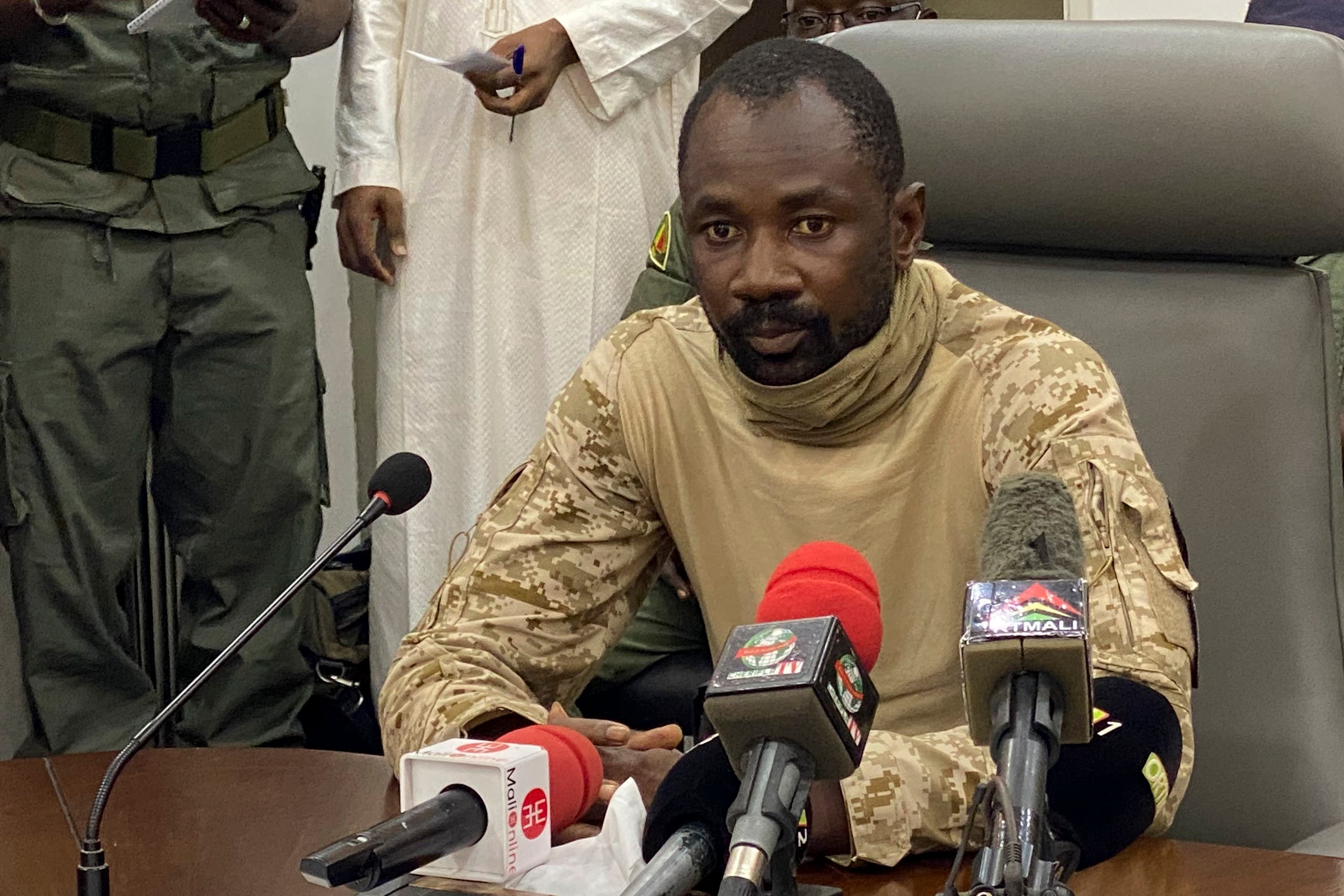 الكولونيل أسيمي غويتا (أرشيفية)