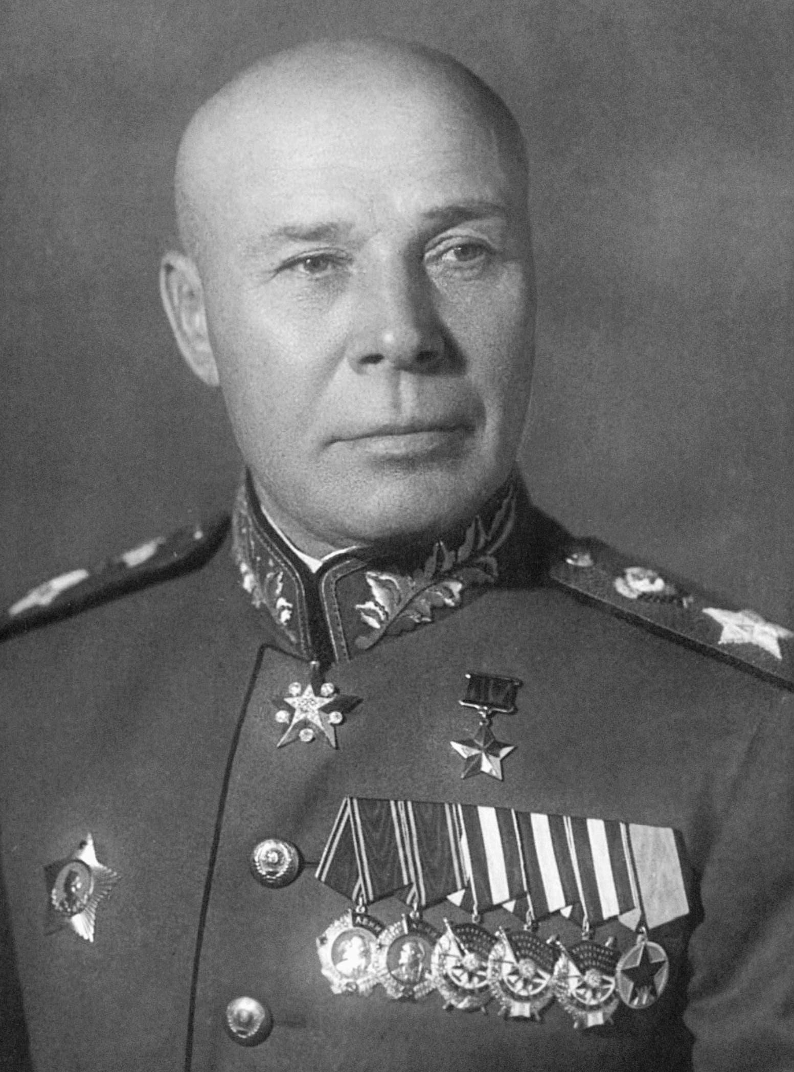 صورة للمارشال السوفيتي سيميون تيموشينكو