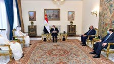 Qatar's top diplomat in Cairo to meet Egypt's president amid improving ties