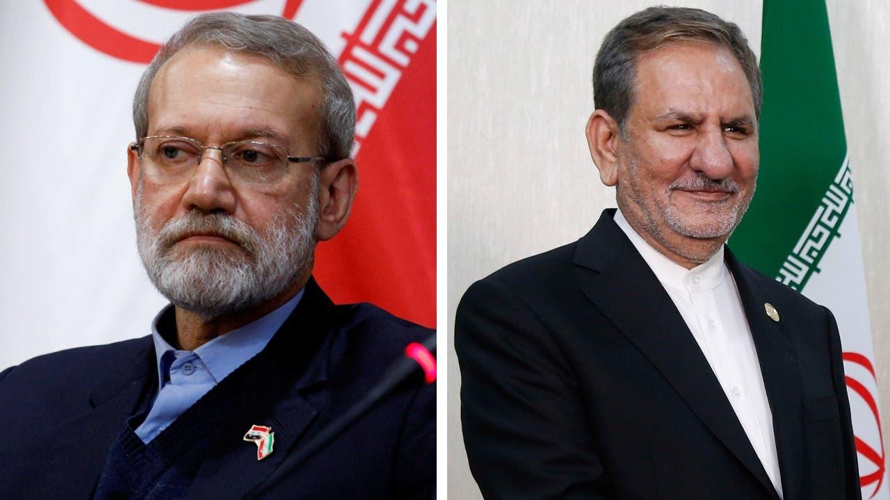 إسحاق جهانغيري وعلي لاريجاني