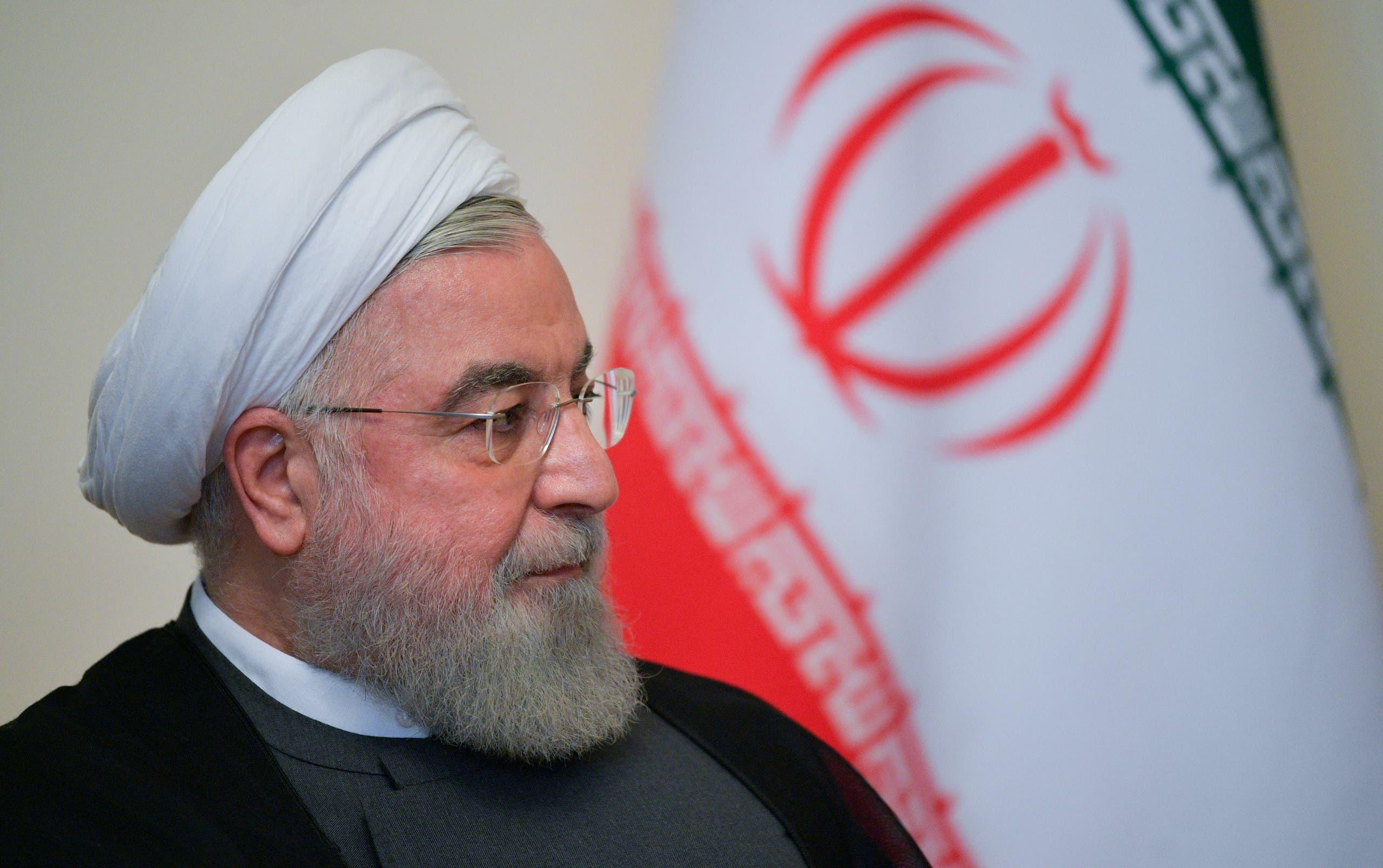 Iranian President Hassan Rouhani. (File photo: Reuters)