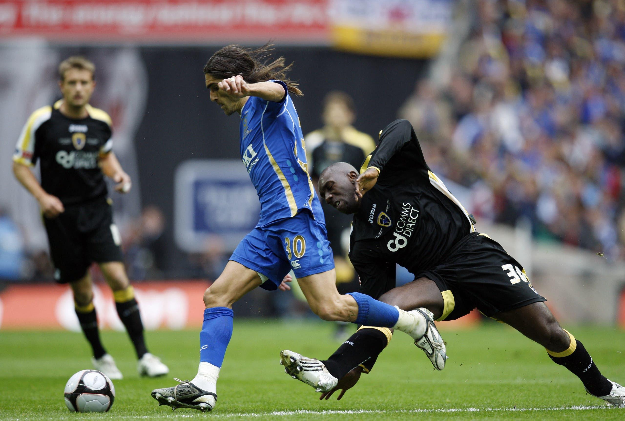 كارديف وبورتسموث لعبا نهائي كأس إنجلترا