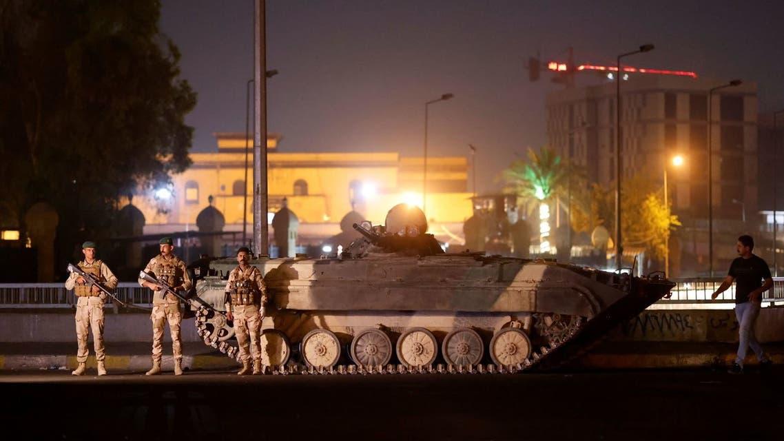 القوات العراقية في بغداد