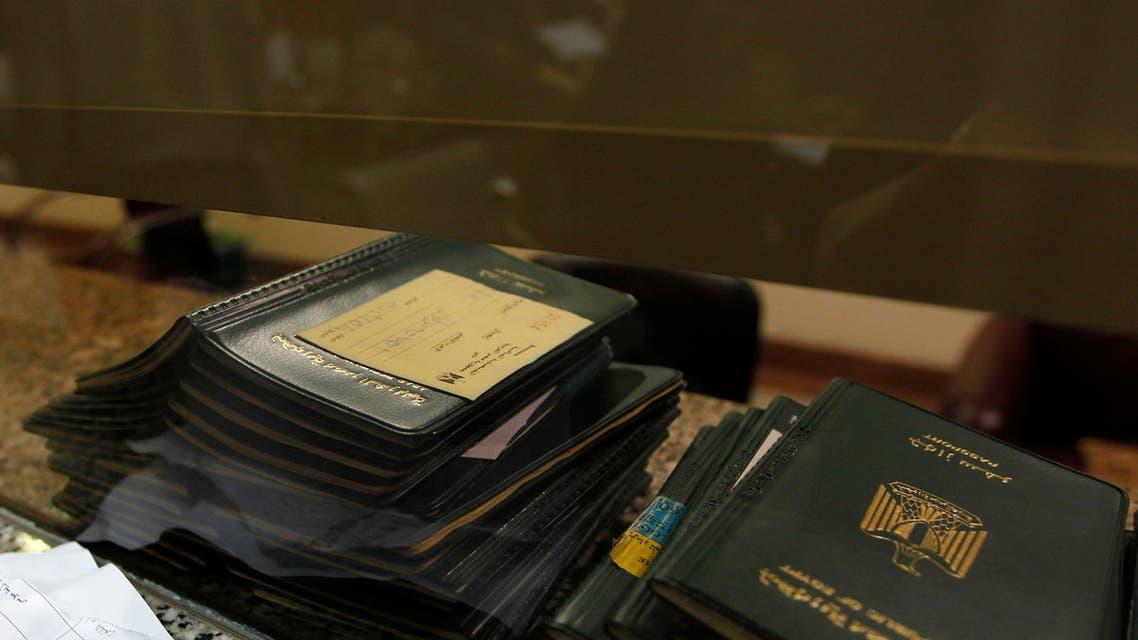 جواز السفر المصري (تعبيرية - رويترز)