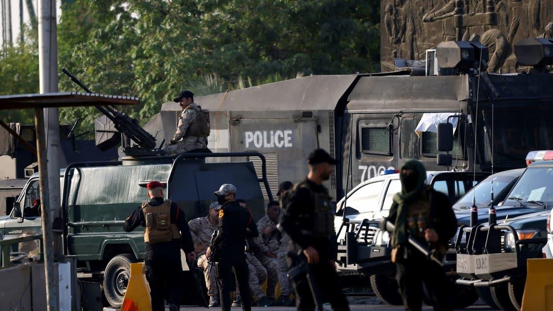 قوات الحشد في بغداد