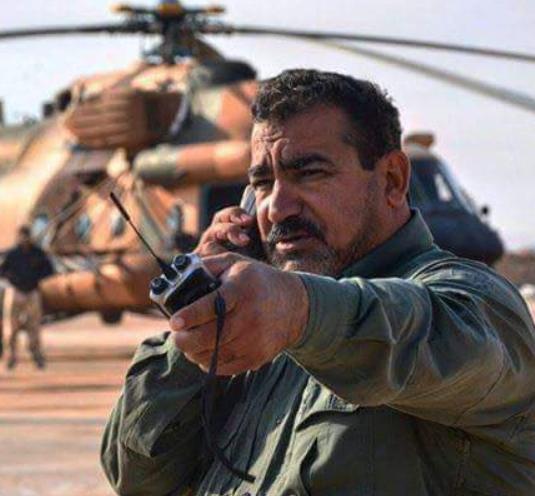 قاسم مصلح، فرمانده عملیات حشد الشعبی در استان الانبار