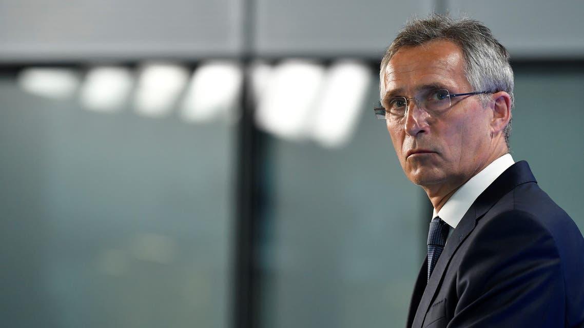 الأمين العام للناتو ينس ستولتنبرغ (رويترز)