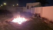 الشرطة العمانية: توقيف 13 أضرموا النار بممتلكات عامة