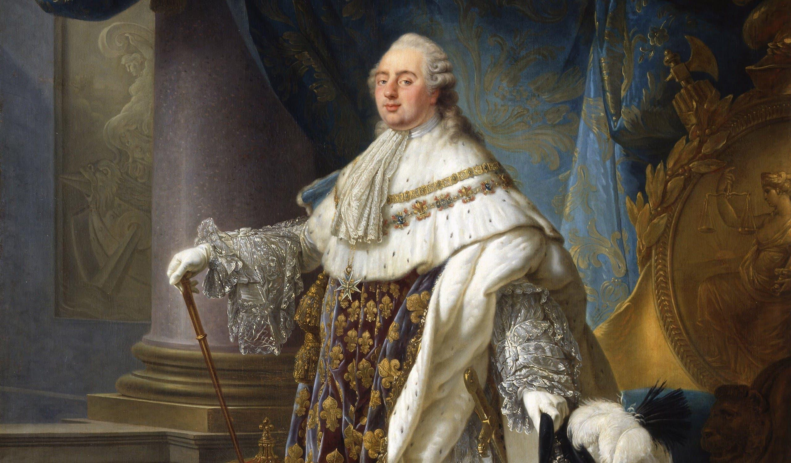صورة للملك الفرنسي لويس السادس عشر - Copy