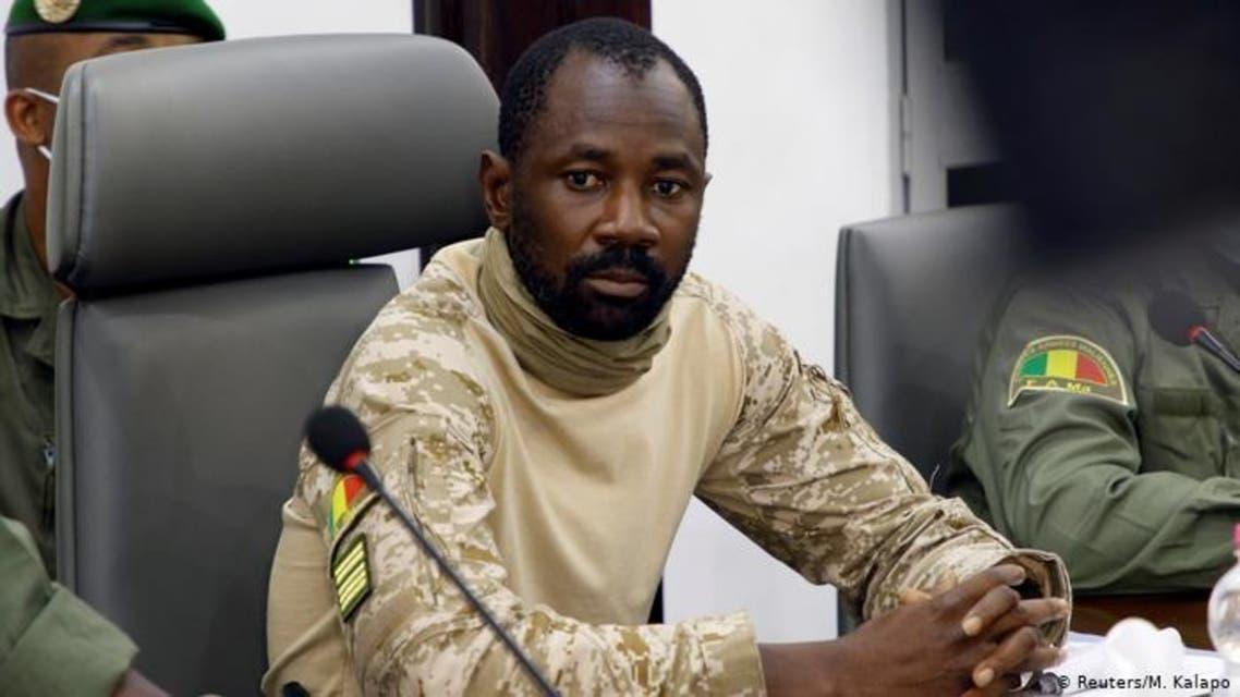 قائد الانقلاب في مالي