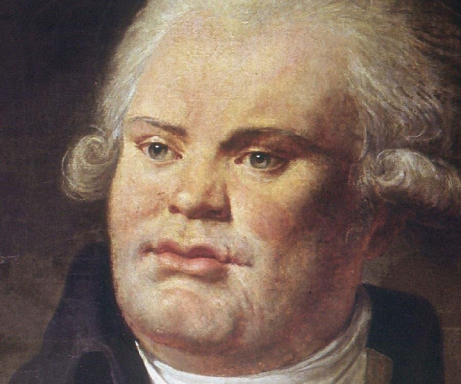 لوحة تجسد شخصية جورج دانتون