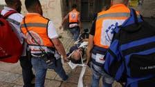 در تیراندازی نیروهای اسرائیلی به تظاهراتی در نابلس 22 فلسطینی زخمی شدند