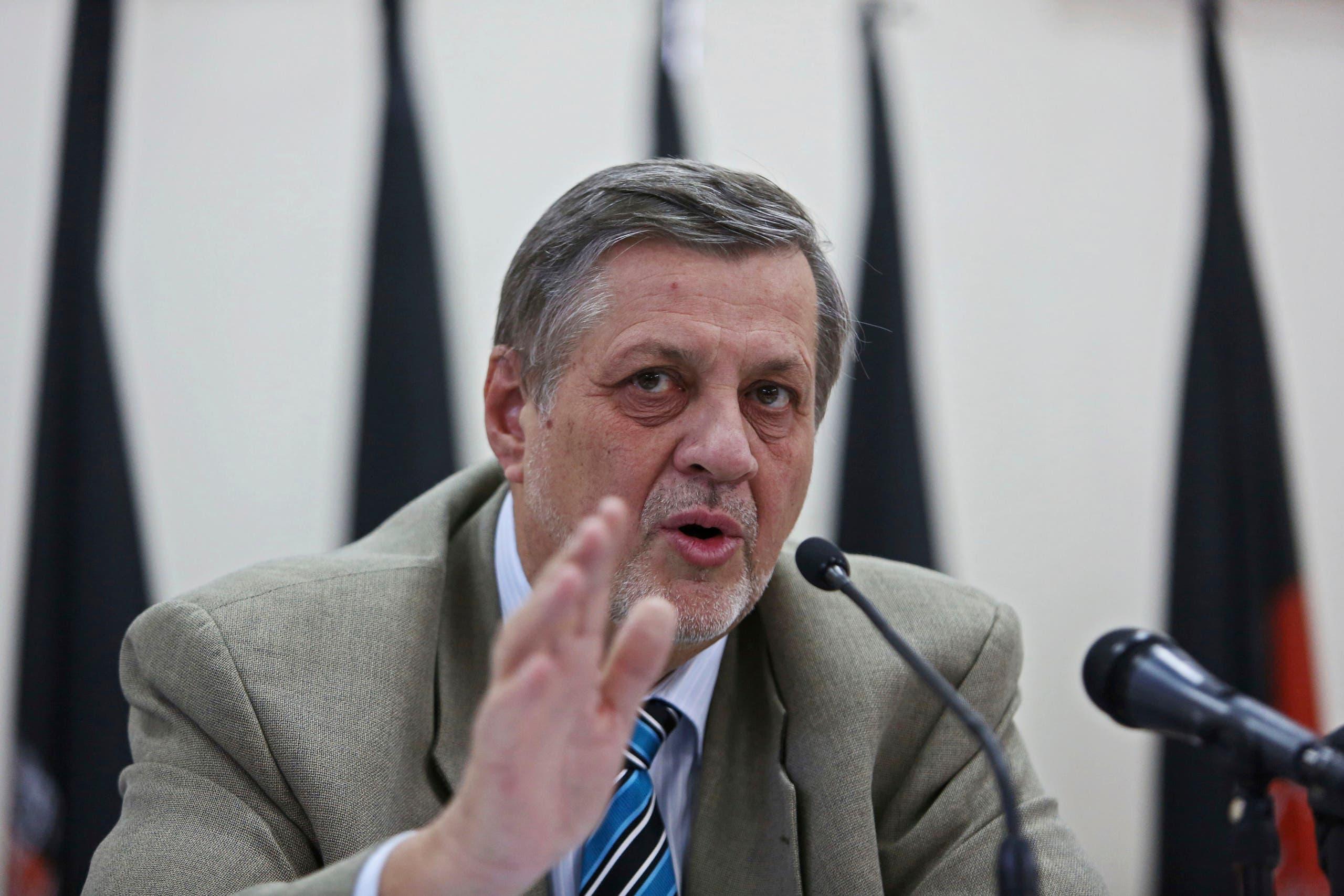 المبعوث الأممي إلى ليبيا يان كوبيش(أسوشييتد برس)