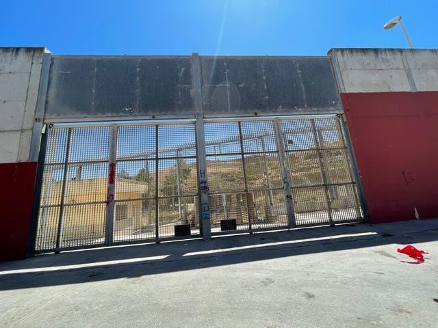 أحد مراكز الإيواء في سبتة