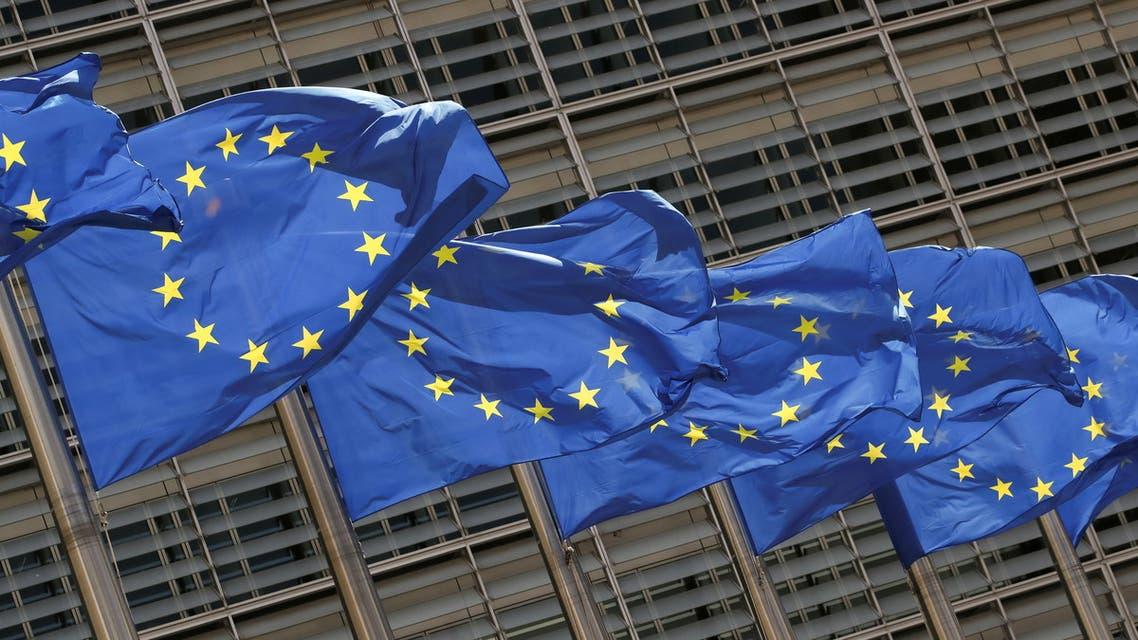 علم الاتحاد الأوروبي (رويترز)