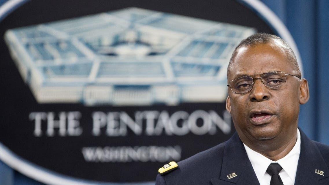 وزير الدفاع الأميركي لويد أوستن