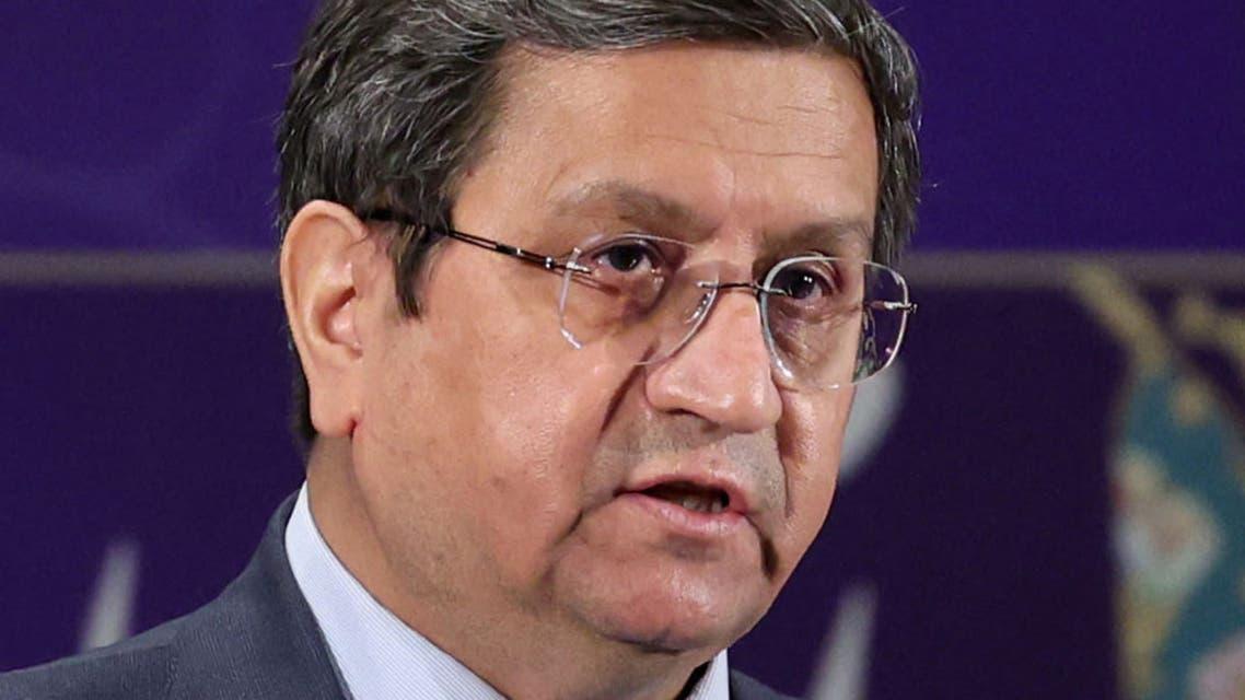 عبد الناصر همتي رئيس المصرف المركزي الإيراني والمرشح للرئاسة (فرانس برس)