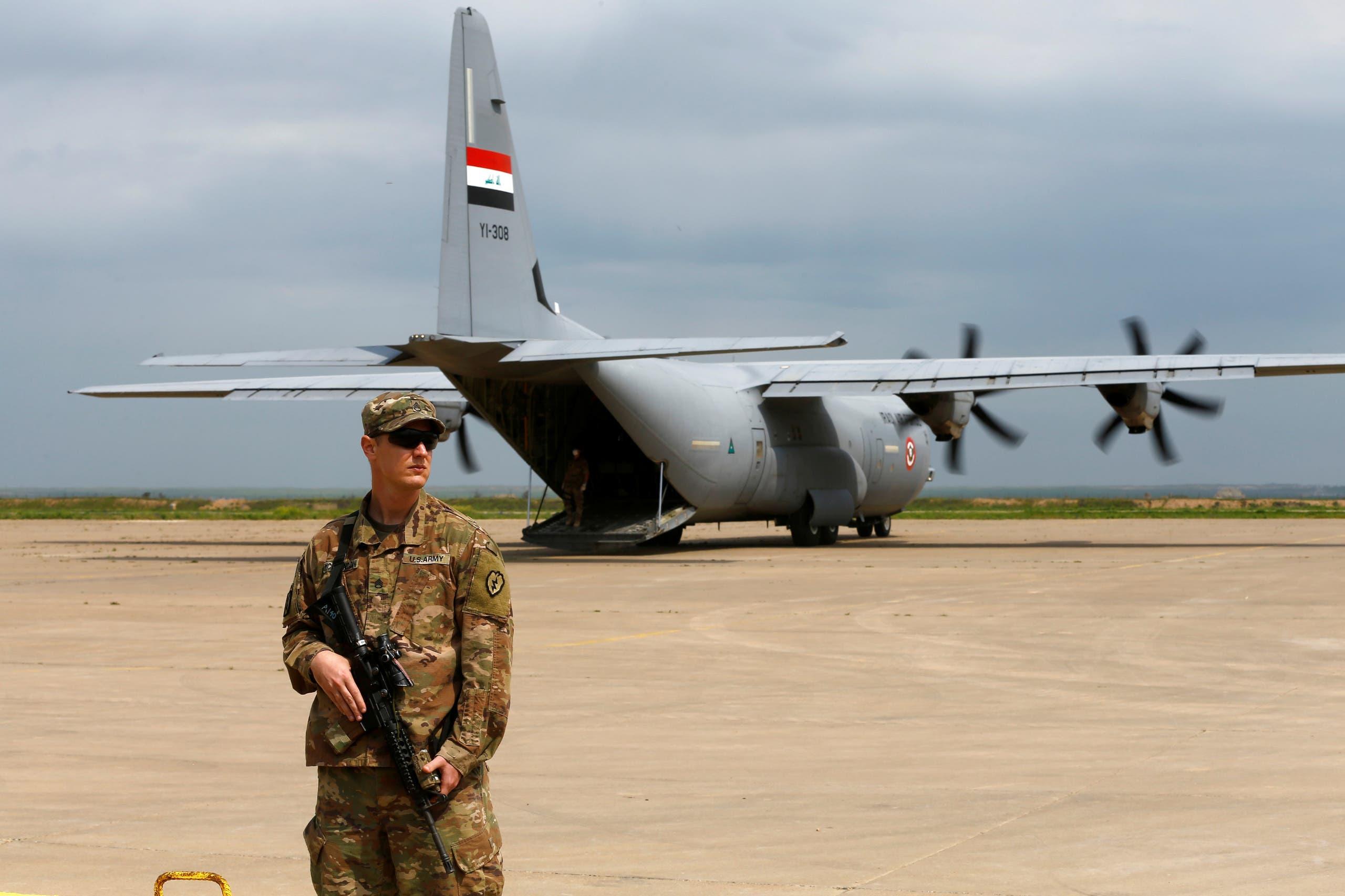 Fuerzas estadounidenses en Irak (archivo - Reuters)